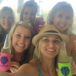Koozies with Fans
